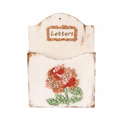 מתקן למכתבים פסיפס שושנה