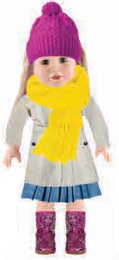 בובה אהובה עשויה מחומר קשיח במיוחד