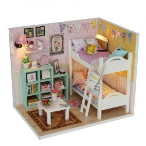 יצירת מיניאטורות - חדר שינה קסום