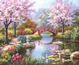 קנוס לצביעה - גשר באגם