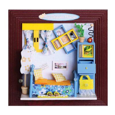 חדר כחול מיניאטורות