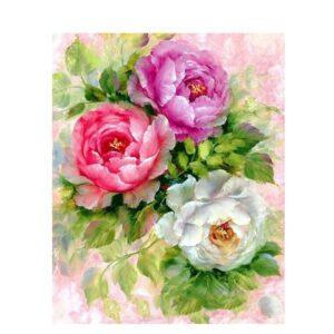 תמונת יהלומים פרחים